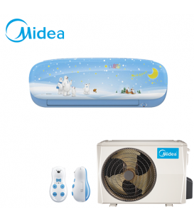 Aer Conditionat MIDEA Kid Star Blue MS11P-12HRFN1 Inverter 12000 BTU/h