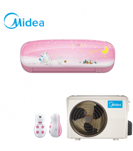 Aer Conditionat MIDEA Kid Star Rose MS11P-12HRFN1 Inverter 12000 BTU/h
