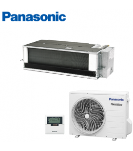 Aer Conditionat DUCT PANASONIC ELITE PAC-I INVERTER S-50PF1E5B / U-50PE2E5A 220V 18000 BTU/h