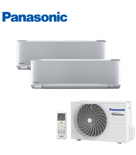 Aer Conditionat MULTISPLIT PANASONIC ETHEREA SILVER CU-2E12SBE / 2x CS-XZ7SKEW INVERTER 2x7k BTU/h