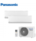 Aer Conditionat MULTISPLIT PANASONIC ETHEREA WHITE CU-2E15SBE / 2x CS-Z9SKEW INVERTER 2x9k BTU/h