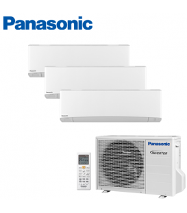 Aer Conditionat MULTISPLIT PANASONIC ETHEREA WHITE CU-3E18PBE / 3x CS-Z9SKEW INVERTER 3x9k BTU/h