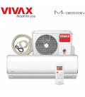 Aer Conditionat VIVAX M-Design ACP-09CH25AEMI Wi-Fi Ready Kit de instalare inclus R32 Inverter 9000 BTU/h