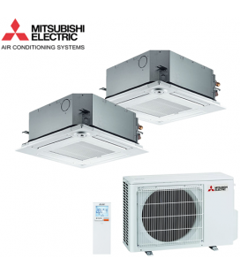 Aer Conditionat MULTISPLIT Caseta MITSUBISHI ELECTRIC MXZ-2D53VA / 2x SLZ-KF25VA Dublu Split Inverter