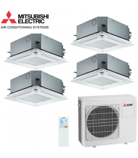 Aer Conditionat MULTISPLIT Caseta MITSUBISHI ELECTRIC 4X SLZ-KF25VA Inverter 4x9k BTU/h