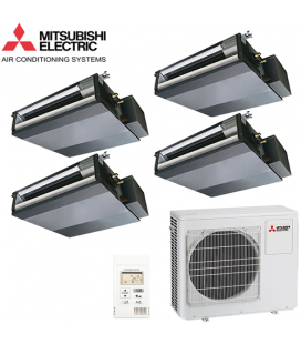 Aer Conditionat MULTISPLIT Duct MITSUBISHI ELECTRIC MXZ-4D83VA / 4x SEZ-KD25VAQ Inverter