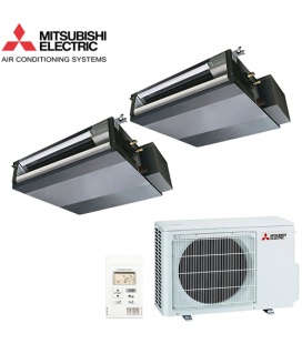 Aer Conditionat MULTISPLIT Duct MITSUBISHI ELECTRIC MXZ-2D53VA / 2x SEZ-KD25VAQ Dublu Split Inverter