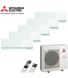 Aer Conditionat MULTISPLIT MITSUBISHI ELECTRIC MXZ-5D102VA / 5x MSZ-EF25VEW Inverter