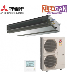 Aer Conditionat DUCT MITSUBISHI ELECTRIC ZUBADAN PEAD-RP100JALQ 380V Inverter 36000 BTU/h