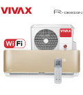 Aer Conditionat VIVAX R-Design ACP-12CH35AERI GOLD Wi-Fi R32 Inverter 12000 BTU/h