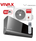 Aer Conditionat VIVAX V-Design ACP-12CH35AEVI BLACK MIRROR Wi-Fi R32 Inverter 12000 BTU/h