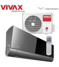 Aer Conditionat VIVAX V-Design ACP-12CH35AEVI BLACK MIRROR Wi-Fi Ready R32 Inverter 12000 BTU/h