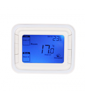 Termostat T-SHOV TF-502 pentru Ventiloconvector 2 tevi