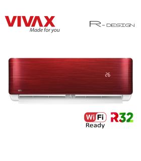 Aer Conditionat VIVAX R-Design ACP-09CH25AERI RED Wi-Fi Ready R32 Inverter 9000 BTU/h