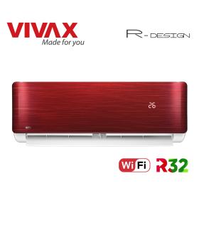 Aer Conditionat VIVAX R-Design ACP-09CH25AERI RED Wi-Fi R32 Inverter 9000 BTU/h