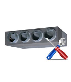 Montaj Aer Conditionat tip DUCT (aparat de tubulatura) 48000 ... 60000 BTU/h